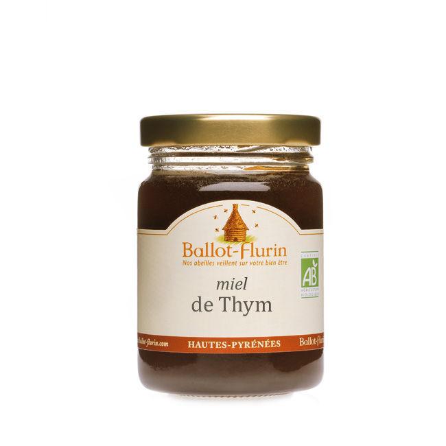miel de thym non pasteurise