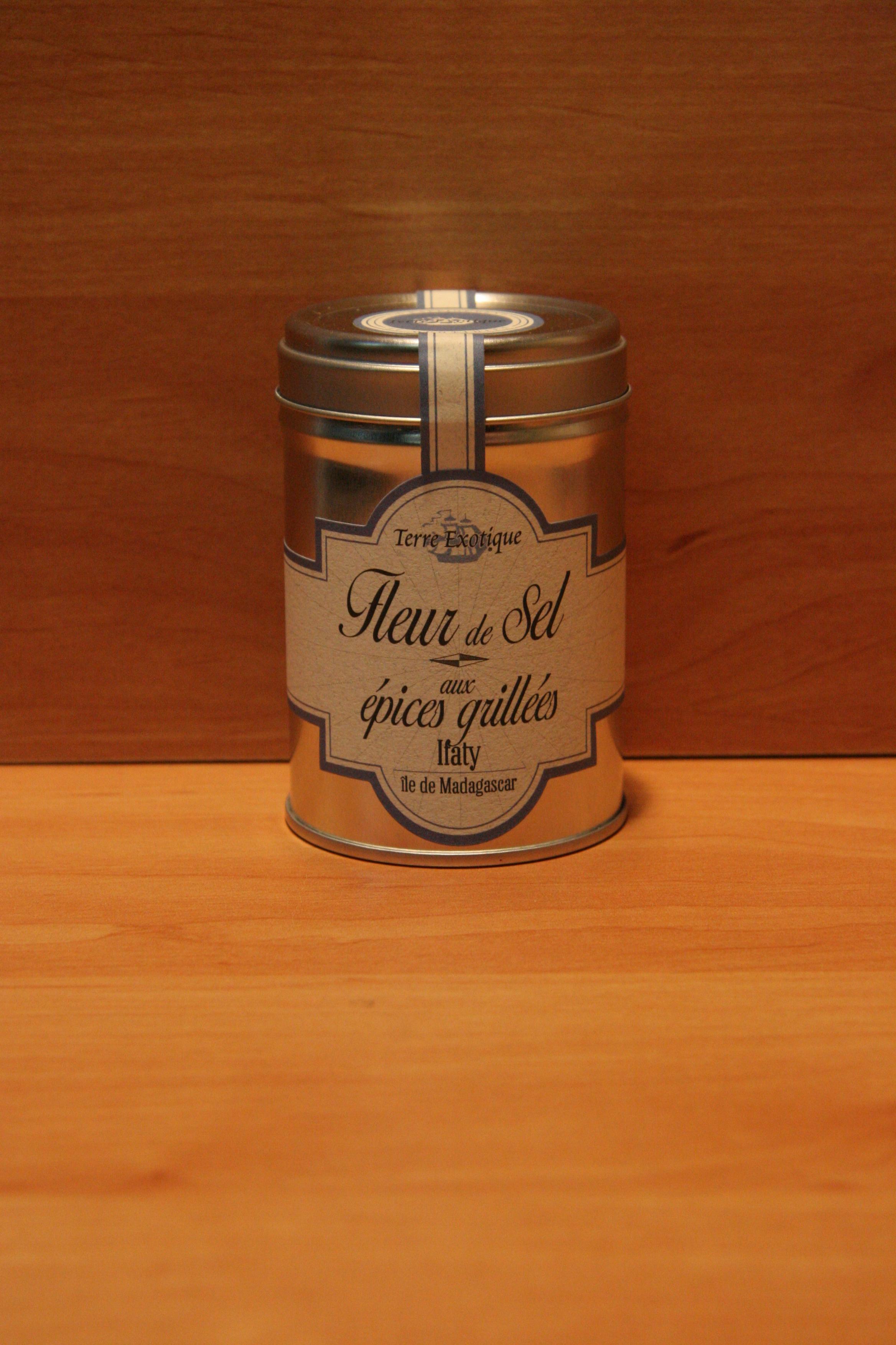 Sels fleur de sel aux pices grill es 90 gr - Fleur de sel aux epices grillees ...