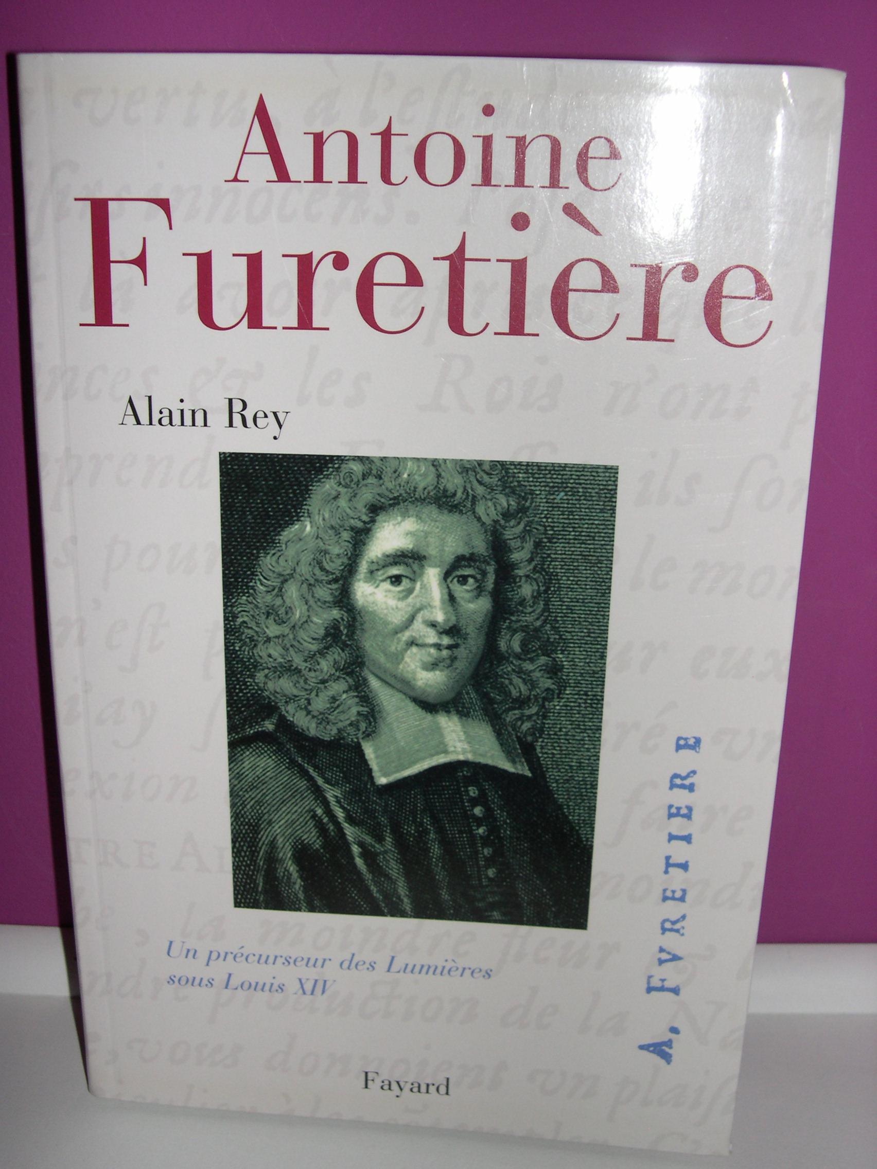 Littérature, Romans, Contes, Essais : Antoine Furetière