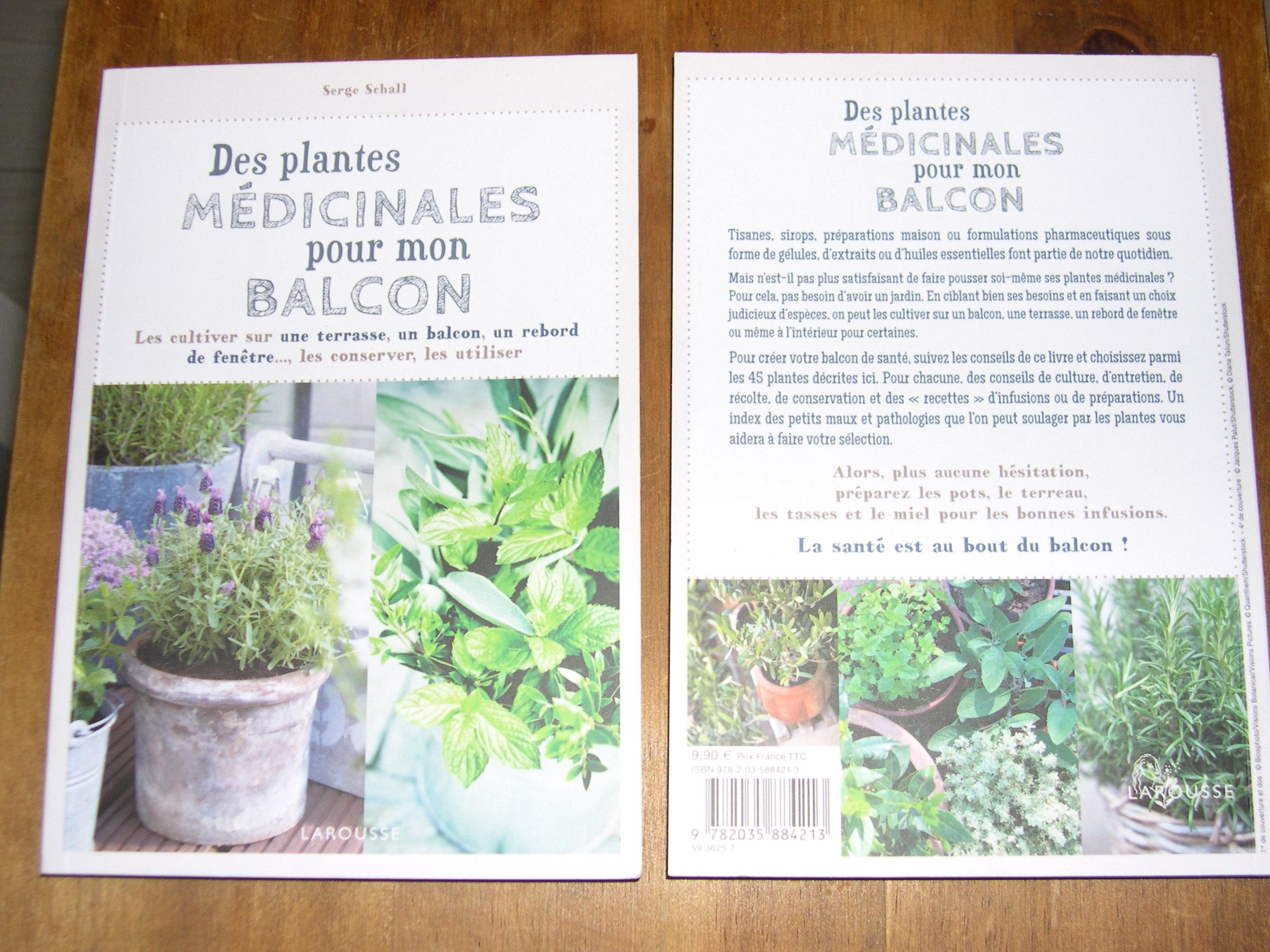 jardin nature des plantes m dicinales pour mon balcon. Black Bedroom Furniture Sets. Home Design Ideas