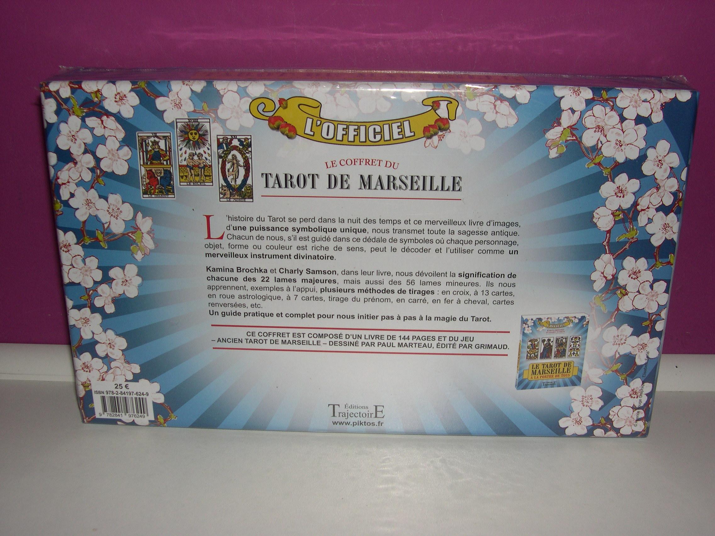 Esotérisme - Féérique   Le Coffret du Tarot de Marseille bac951617482