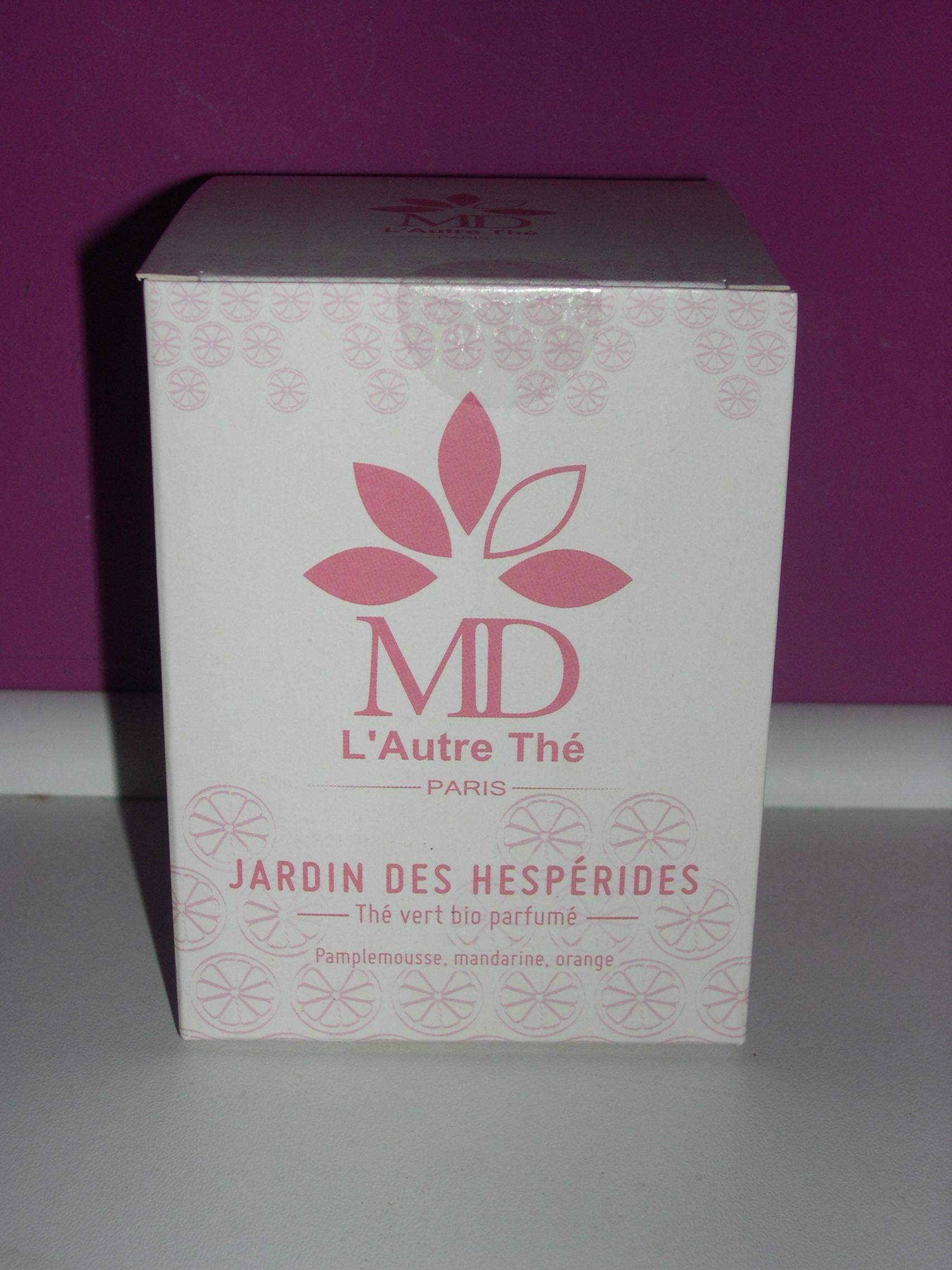 Th s assembl s jardin des hesp rides boite sachet mousseline for Jardin hesperides