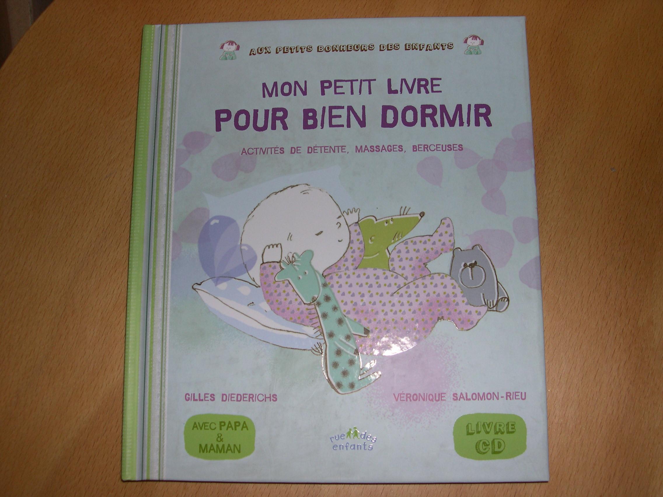 livres pour enfants plus grands mon petit livre pour bien dormir. Black Bedroom Furniture Sets. Home Design Ideas