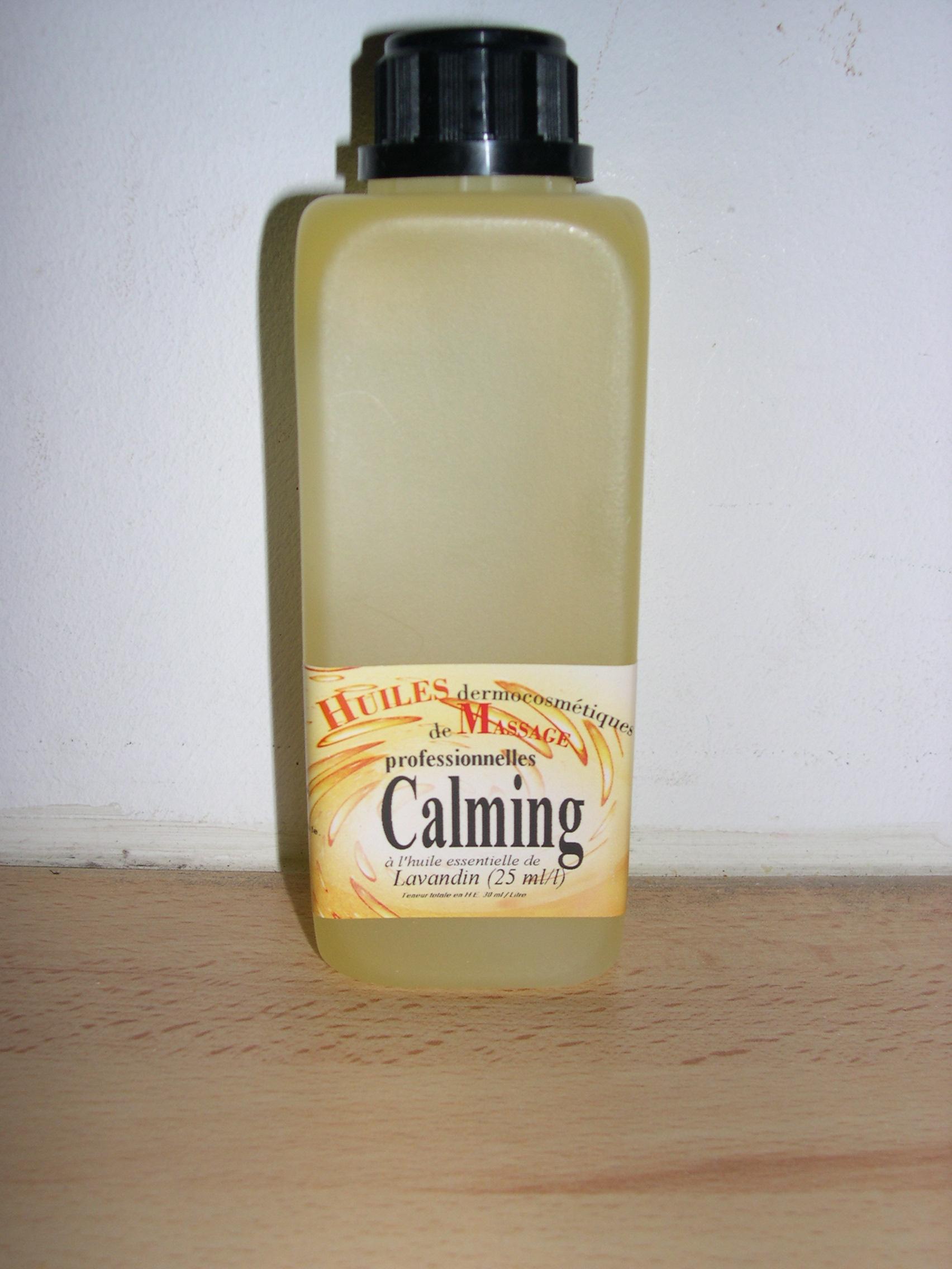 baumes et huiles de massage huile de massage calming 250 ml. Black Bedroom Furniture Sets. Home Design Ideas