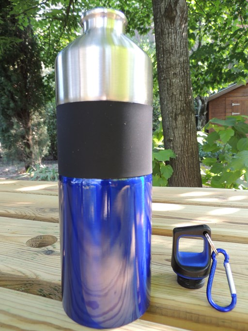 Gourde isotherme inox 4 couleurs